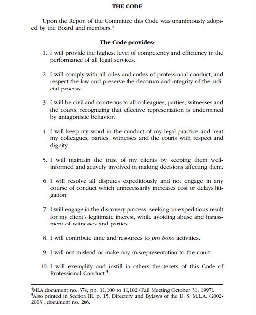 Ethics Professional Responsibility: Cooper And Bilbrey, P.C
