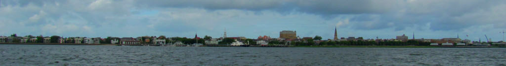 City of Charleston from the harbor