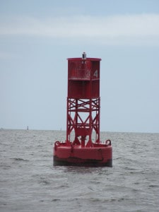 Buoy in Charleston Harbor